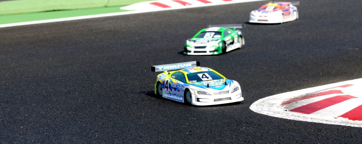 RC touring car racing