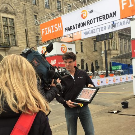 Behind the scenes at Rotterdam Marathon