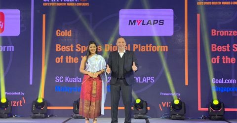 Sport Industry Award for MYLAPS EventApp 1