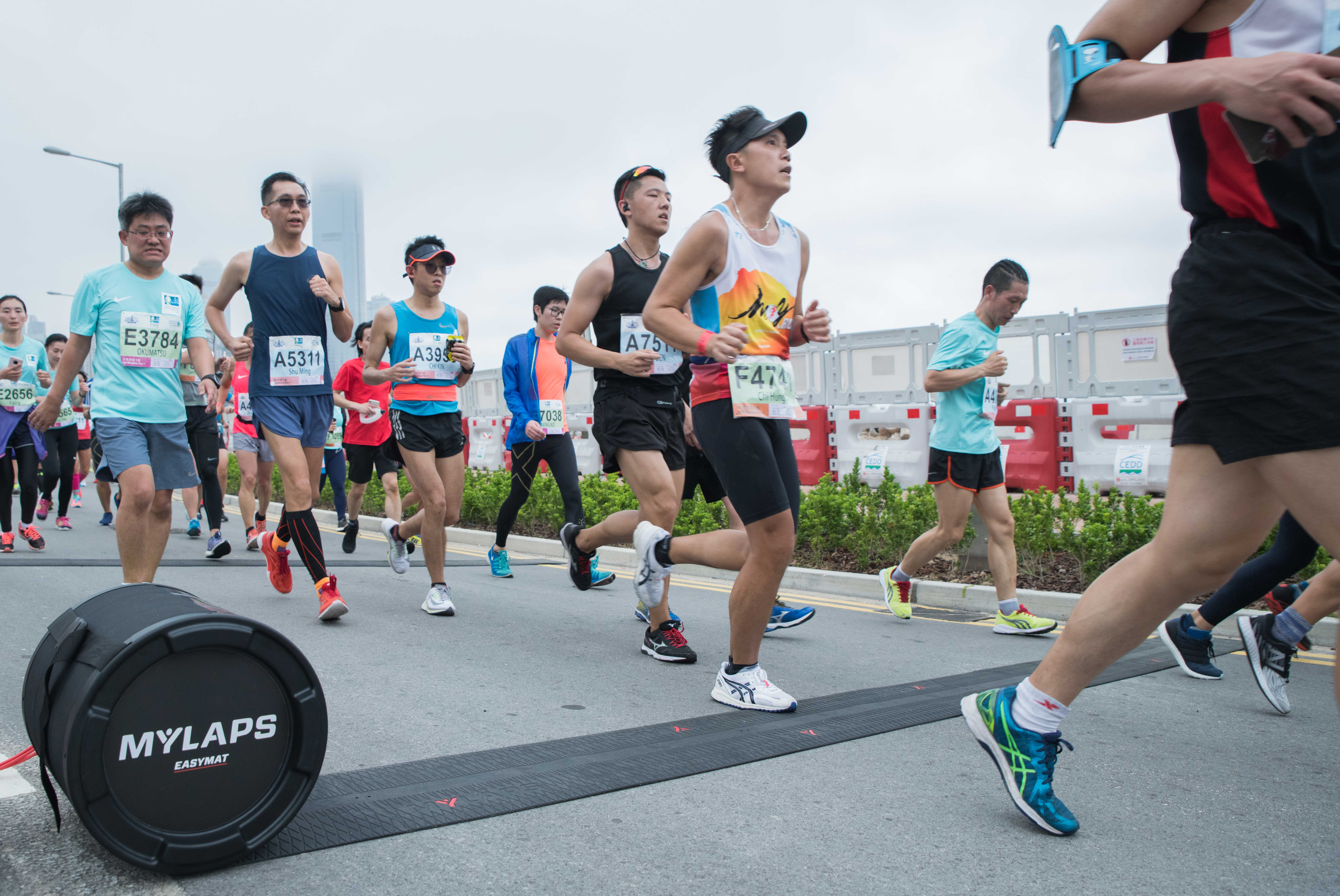 Behind the scenes of the Hong Kong Marathon 2