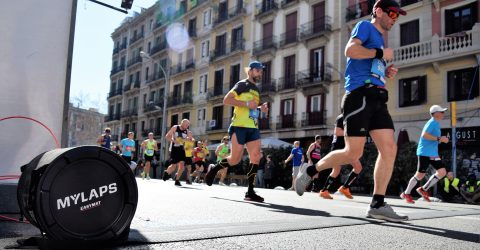 Backstage at the Barcelona Marathon 3