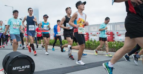 New EasyMat used at Hong Kong Marathon