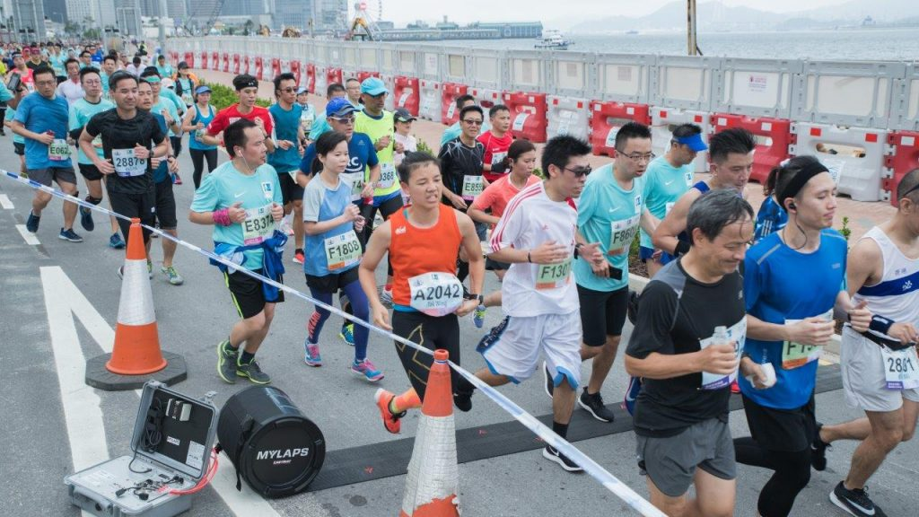 Behind the scenes at Hong Kong Marathon 2