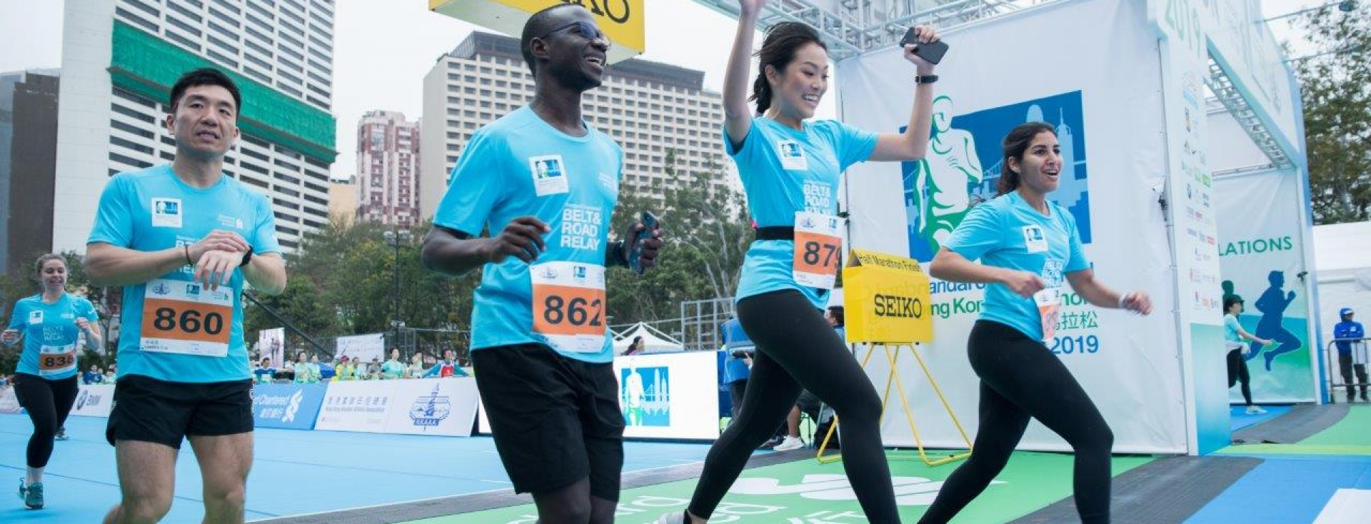 Behind the scenes at Hong Kong Marathon 3