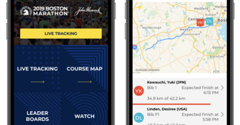 More than 246,000 users for Boston Marathon App 9