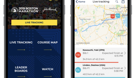 More than 246,000 users for Boston Marathon App 1