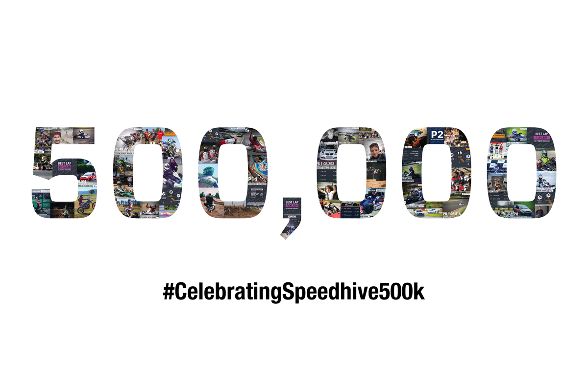 Celebrating 500k MYLAPS Speedhive app downloads