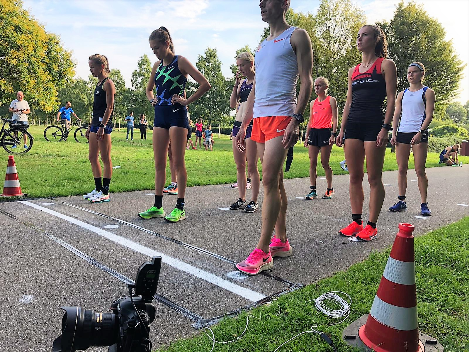 4 National Records at first timed 5K race 3