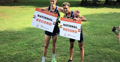 4 National Records at first timed 5K race 1