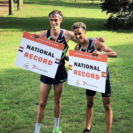 4 National Records at first timed 5K race
