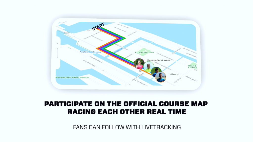 Virtual Racing in the EventApp 7