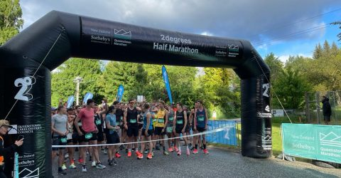 Queenstown marathon with 10.000+ timed by MYLAPS