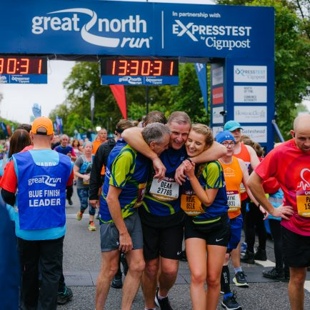 The Great North Run using updated EventApp