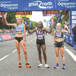 The Great North Run using updated EventApp 3