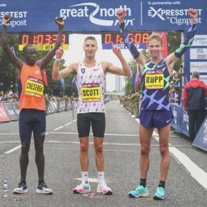 The Great North Run using updated EventApp 4