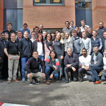 MYLAPS Sales Team gathers for Global Sales Meeting