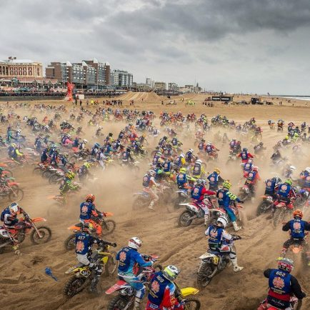 World's toughest beach race in the Netherlands