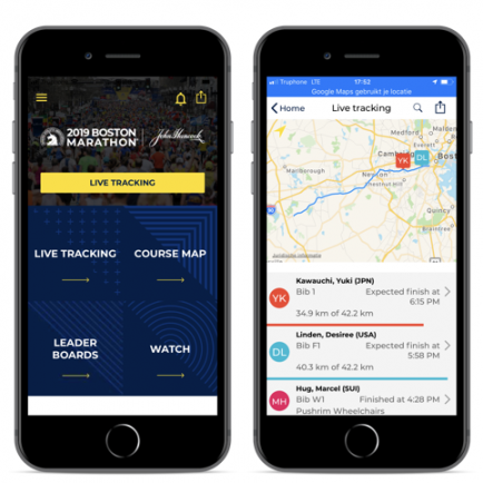 More than 246,000 users for Boston Marathon App