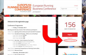 European Running Business Conference